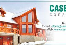 Casa din lemn masiv / Casuta