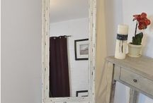 CHEVAL/FREE STANDING MIRRORS / Short of wall space? Why not choose a free-standing Cheval design mirror giving you the freedom to choose its vantage point. The beautiful designs come in all-glass, gold, silver, black or white frames, in rectangle or oval shapes, in various sizes and can literally be placed wherever you would like it thanks to its sturdy legs and support frame. Sure to bring light and the feeling of extra space to any corner of your home. Particularly suitable for bedrooms, dressing rooms or hallways.