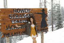 Howdy From Jackson Hole / Fall 2014 Collection   This season the ladies of For Love & Lemons went back to their roots - traveling home to Jackson Hole, Wyoming. The girls take you on a tour to all their favorite local spots and what they will be wearing there. Inspired by the enchanting & playful spirit of country living this season is designed to make you feel equally comfortable and sexy. You will love the gorgeous color palette influenced by wooded forests, wild flowers, the Tetons, and open skies of Jackson Hole.
