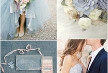 Blu serenity wedding