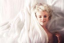 Marilyn & Audrey / Mah gurls / by Emily Bartos