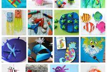 Ocean Crafts: Marine Awareness through Art / Cultivate marine awareness and conservation through arts and crafts.