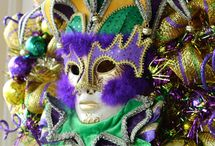 Mardi Gras crafts / by Sylvia