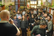 Fluid Prejudice Launch / In May 2014 we were lucky enough to be involved in the Fluid Prejudice book launch at Jura Books in Sydney. Safdar gave a speech and we were able to share our new zines with the launch party!