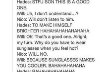 Nico, Will and Hades