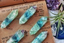 Crystals / All about crystals - different healing crystal types, ideas, uses, and more