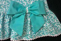 vestidos niñita en tela