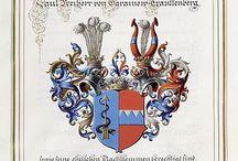 Heraldry 19C Designs: Ernst Krahl