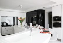 Project DFMK - Residential / DFMK residential #solidsurface projects using #corian, #himacs, #tristone, #hanex
