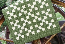 Green quilts / by Susan Pulsipher