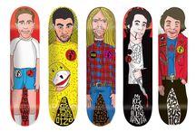 skateboard / skateboards