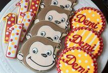 Monkey Curious George Birthda