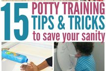 Potty Training Boys / Advice, tips and tricks for potty training boys