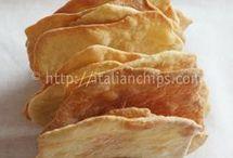 pane senza lievito sottile