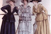 1900-1919 - Edwardian Fashion / by Cindy Joy