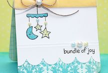 Baby Cards / Want to make a card for a baby or baby shower? Look no further for ideas.