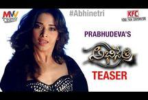Tamanna First Look Abhinetri Movie Teaser | Prabhu Deva