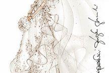 Svadobné inšpirácie / šaty / Wedding Inspiration Board (Wedding Dress)