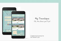 UI/UX My Travelogue