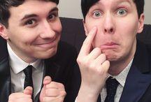 Phil and Dan. Dan and Phil