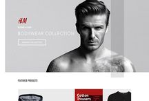 Fashion websites design