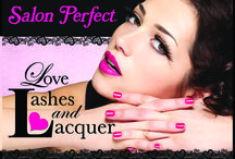 """Love, Lashes and Lacquer / Fall in Love with Salon Perfect's """"Love, Lashes and Lacquer"""" Collection.   Valentines Day 2014"""