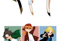 Random cartoon images