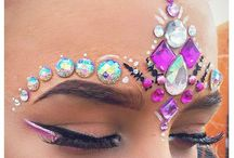 Facial jewels