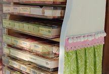 Craft Storage / by Nancy Johnson