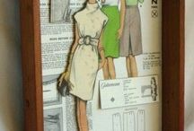 Sewing pattern deco