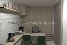 VERSALLE MOVEIS PLANEJADOS - 02 / Móveis projetado e executados pela VERSALLE MOVEIS PLANEJADOS. www.versallemoveis.com.br