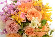 wedding bouquet(オレンジ・イエロー系)