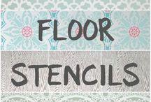 Painted floors