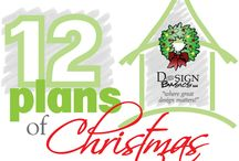 12 Plans of Christmas / 12 home designs that feature a Christmas or holiday themed name.