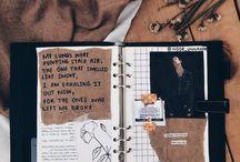 Scrap booking/ bullet journal