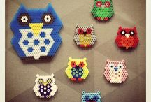 Hama Perler bead stuff / by Peggy-Sue Lafferty