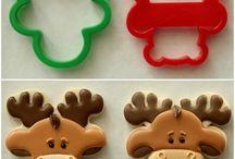 Pepperkaker / Gingerbread cookies