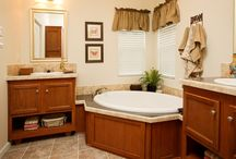 Bathroom Designs / Check out these beautiful bathrooms for inspiration! Perfect places for relaxation!