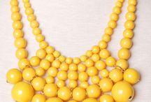 colour palette: yellows