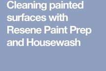 Home improvement / Painting, cleaning, products etc