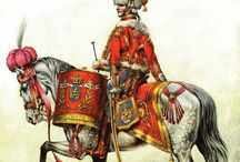 Napoleonic Timbaliers musiciens trompettes de cavalerie