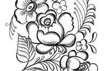 Virág rajzok