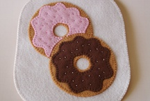 SEW: Fabric Gifts for Kitchen/ Other / Recycled or new fabrics made into kitchen/dining items. And small useful gift items.