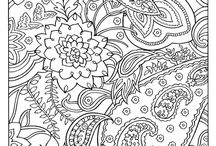 Zentangle and Coloring Pages / by Pepper Hayes