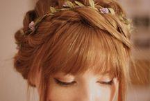 Wedding and Ball Hair Inspiration