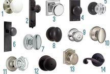 Door Hardware / Options for interior doors