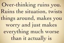 Thoughts-Frases / Frases, pensamientos, para ser positivos, para tener un mejor día, para inspirarse, un poquito de las muchas cosas que pueden pasar por mi cabeza