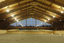 Indoor Arenas / We love making our client's dreams into a reality. Browse through the indoor horse arenas that B&D Builders has built. Check out more at www.custombarnbuilding.com