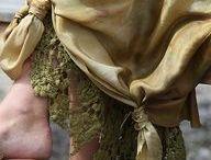 Юбки и платья в пол