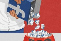 Social media detox (satirical images) / Schiavitù ed abuso...